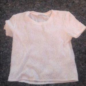 Women's Zara short sleeve sweater in large